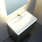 Wastafelmeubel donkergrijs 100x56 inclusief wasbak - BU-1001 Brugge