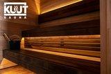 KUUT Sauna Premium Quality met Houtkachel, 219x325 CM