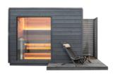 KUUT Sauna Premium Quality met elektrische heater, 219x325 CM