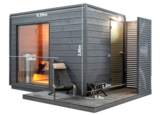 KUUT Sauna Basic L met elektrische heater | 219x325 CM_