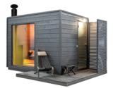 KUUT Sauna Premium L met Houtkachel  219x325 CM