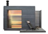Houtkachel sauna van KUUT   BasicL