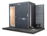 KUUT Sauna Stoomcabine Basic M   120x240 CM