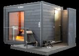 KUUT Sauna Premium M met Elektrische Heater |219x227 CM