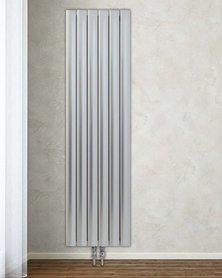 Design Radiator horizontaal Aluminium Wit - Aeon Bombe