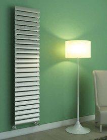 Design Radiator horizontaal Aluminium Wit - Aeon Kavis