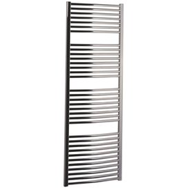 Handdoekradiator multirail curved Staal Chroom - Eastbrook Biava