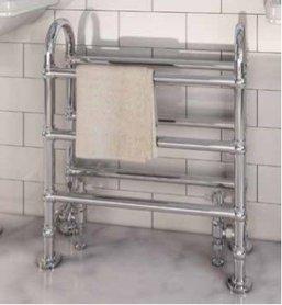 Klassieke handdoekradiator staal chroom 77,8x68,6cm 290 watt - Eastbrook Painswick