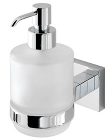 Zeepdispenser glas 15x7,2x1,21cm - Rimini Eastbrook