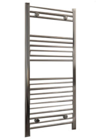 Handdoekradiator multirail dry element staal chroom - Eastbrook Biava