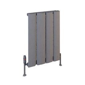 Design Radiator horizontaal Aluminium Mat Grijs - Eastbrook Malmesbury