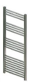 Handdoekradiator multirail straight staal chroom - Eastbrook Wendover