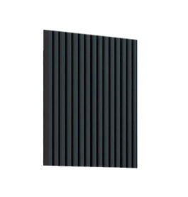 Design Radiator horizontaal Staal Mat antraciet - Eastbrook Rowsham