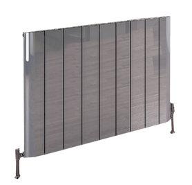 Design Radiator horizontaal Aluminium Gepolijst aluminium - Eastbrook Peretti