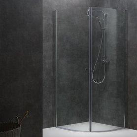Douchewand Inloopdouche 100x100cm transparant - LCR1000 Eago