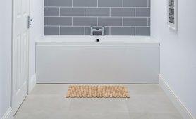 Hoekbad ligbad badkuip duo dubbelzijdig wit 160x70cm - Profile Eastbrook
