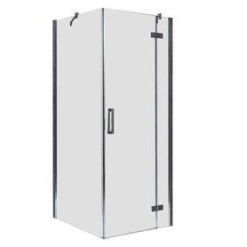 Douchecabine transparant 90x90cm deur rechts met frame - LBS0905 EAGO