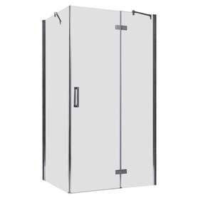 Douchecabine transparant 150x90cm deur rechts met frame - LBS1505 EAGO