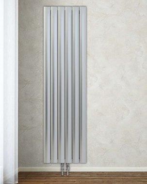 Design Radiator verticaal Aluminium Wit - Aeon Bombe