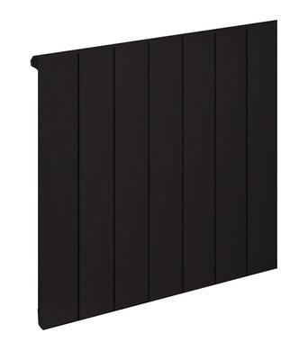 Design radiator horizontaal aluminium mat antraciet - Rosano