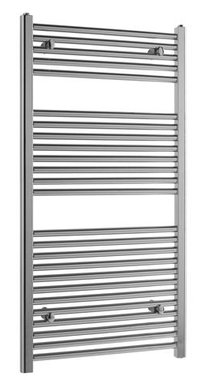 Handdoekradiator multirail high output staal chroom - Eastbrook Biava