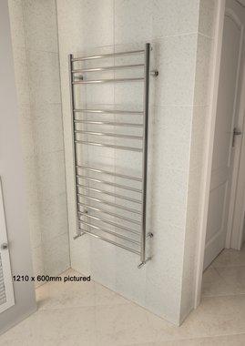 Handdoekradiator multirail RVS Gepolijst staal - Eastbrook Violla