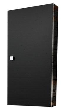 Deur spiegelkast 40x80cm Zwart - Oslo Eastbrook