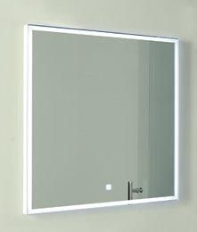 LED badkamerspiegel 70x70cm met aan/uit touch sensor en spiegelverwarming - Esk Eastbrook