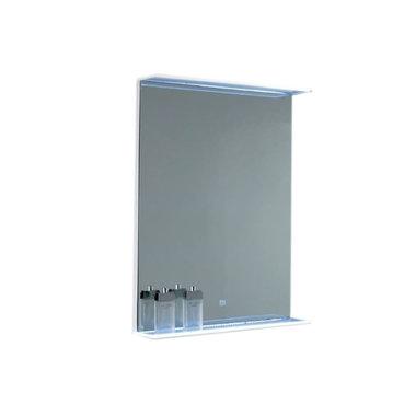 Spiegel LED verlichting met planchet Findhorn 70x70cm - Eastbrook