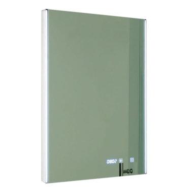 Spiegel LED verlichting, aan/uit touch sensor, verwarming en digitale klok - Eastbrook
