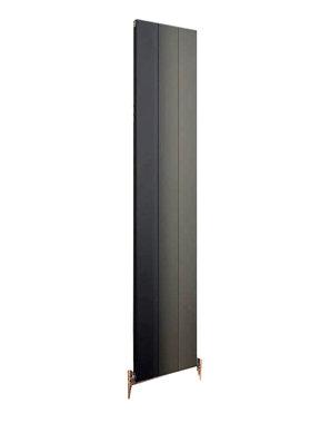 Design Radiator verticaal Aluminium Mat Antraciet - Eastbrook Vesima