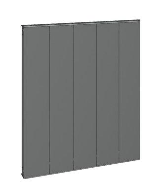 Design Radiator horizontaal Aluminium Mat Antraciet - Eastbrook Vesima