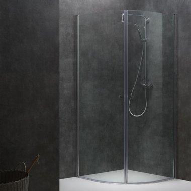 Douchewand Inloopdouche 90x90cm transparant - LCR0900 Eago