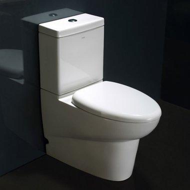 EAGO WA379SP staand toilet met soft-close closetzitting