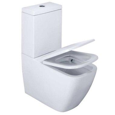 EAGO WA390SP staand toilet zonder spoelrand