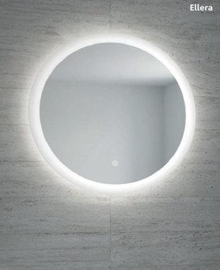 Ronde spiegel met led verlichting en spiegelverwarming 62cm doorsnee - Ellera Eastbrook