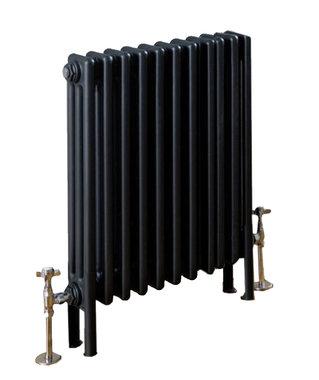 Design Radiator horizontaal 2 kolom Staal Mat Antraciet - Eastbrook Rivassa