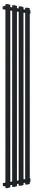 Design Radiator verticaal Staal Mat zwart - Eastbrook Tunstall