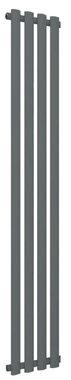 Design Radiator verticaal Staal Mat antraciet - Eastbrook Tunstall