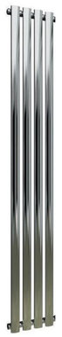 Design Radiator verticaal Staal Chroom - Eastbrook Tunstall