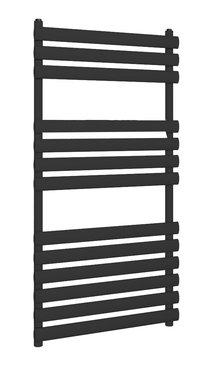 Handdoekradiator multirail staal mat zwart - Eastbrook Tunstall
