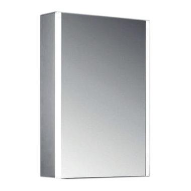 Spiegelkast met LED verlichting en spiegelverwarming 60x40x13cm - Caldini Eastbrook