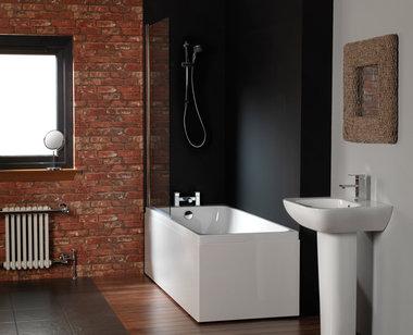 ligbad badkuip inbouw enkelzijdig wit 1600x700mm - Profile Eastbrook