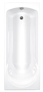 Inbouwbad ligbad badkuip enkelzijdig wit 1700x700mm - Arc Eastbrook