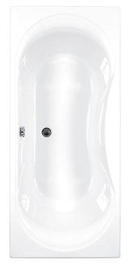 Inbouwbad ligbad badkuip dubbelzijdig duo wit 1700x750mm - Arc Eastbrook