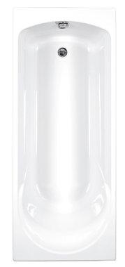 Inbouwbad ligbad badkuip enkelzijdig wit 1700x750mm - Arc Eastbrook