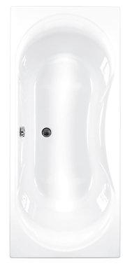 Inbouwbad ligbad badkuip dubbelzijdig duo wit 1800x800mm - Arc Eastbrook