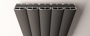 Afdekset radiator 104cm breed - Guardia Eastbrook