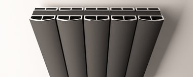 Afdekset radiator 123cm breed - Guardia Eastbrook