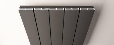 Afdekset radiator 123cm breed Chroom - Rosano Eastbrook